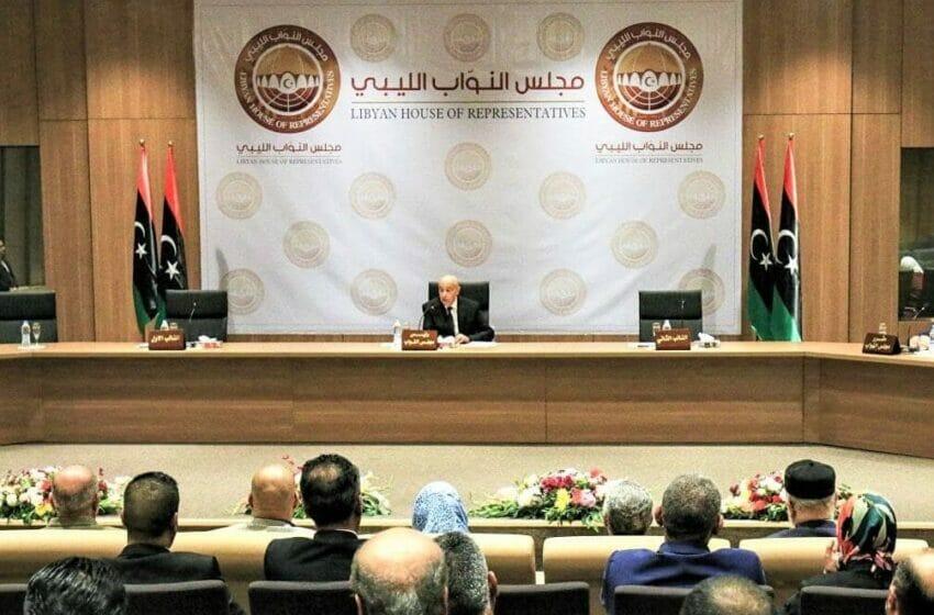 مجلس النواب الليبي يسحب الثقة من الحكومة
