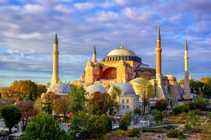 مسجد آيا صوفيا - مدينة إسطنبول