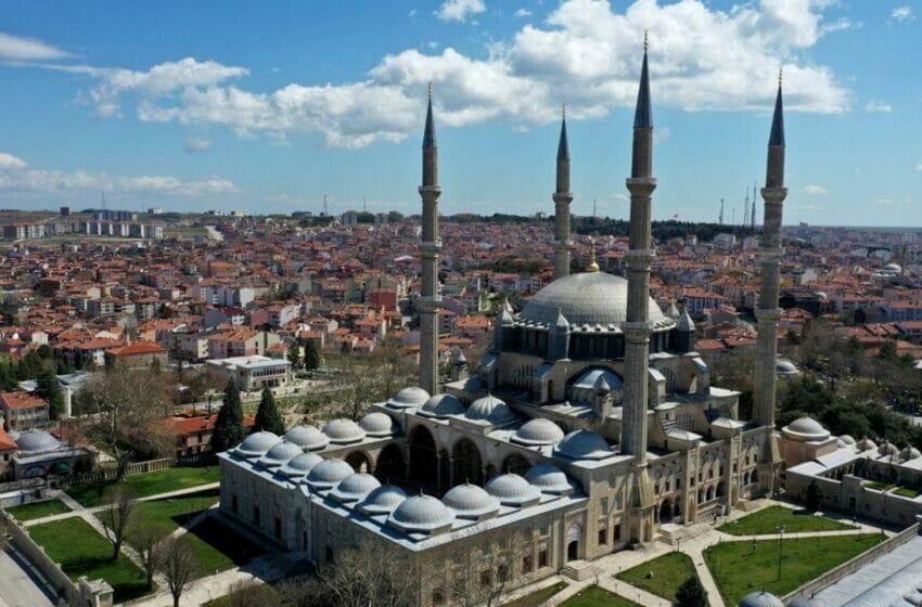 السليمية في أدرنة - أسبوع المساجد في تركيا يبدأ أول أكتوبر 2021