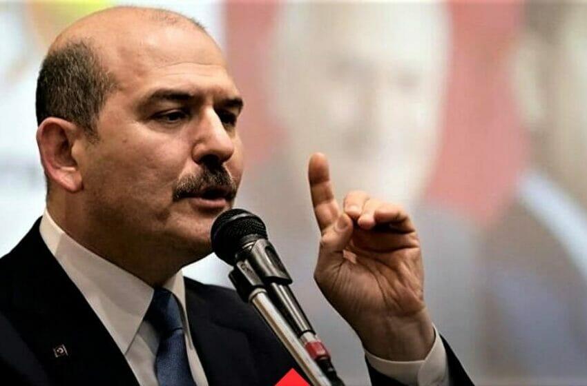 وزير الداخلية التركي.. يعلن عن منع تركيا دخول أكثر من 2 مليون مهاجر غير نظامي إلى البلاد