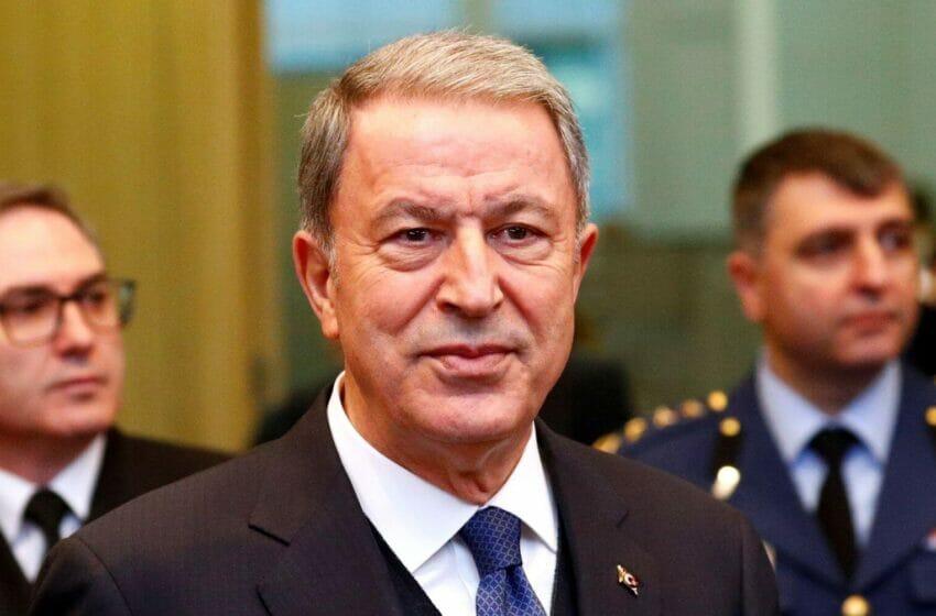 وزير الدفاع التركي: قوات البحرية التركية ستواصل الإسهام بالسلام