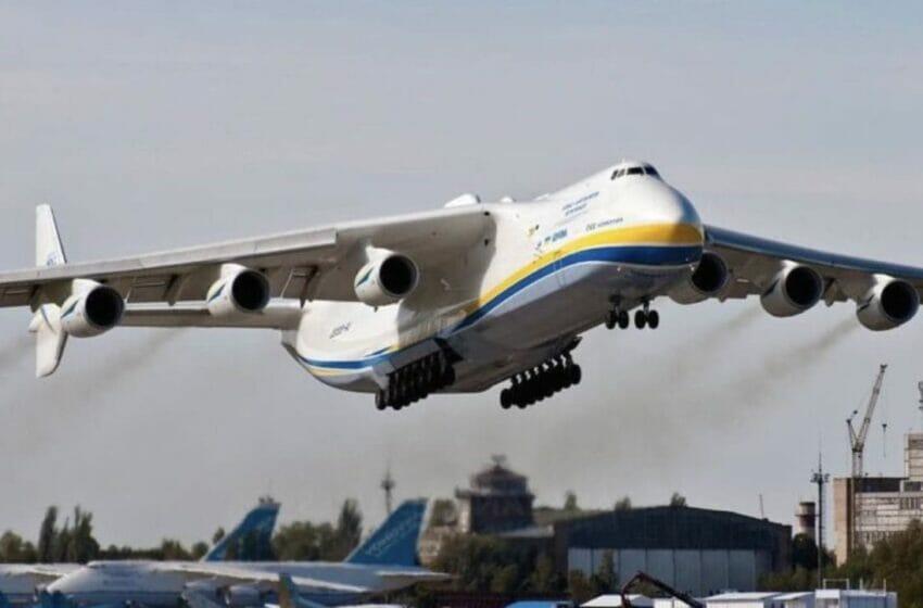 لأول مرة أكبر طائرة شحن في العالم تهبط في إسطنبول