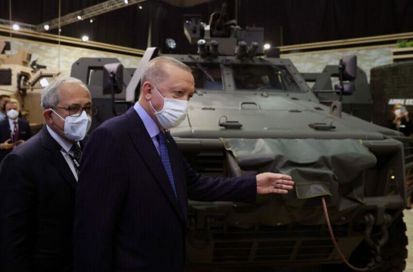 التلفزيون الألماني الصناعات الدفاعية التركية في تصاعد 2021