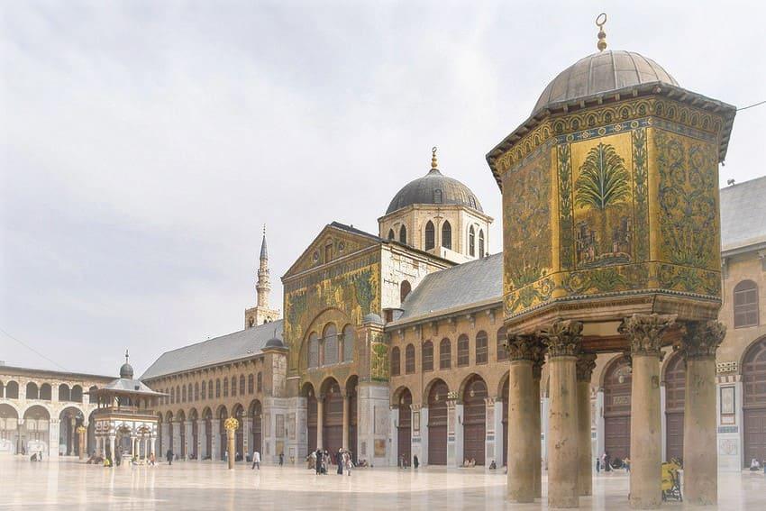 المسجد الأموي في دمشق (مسجد دمشق) - روائع من التاريخ العثماني