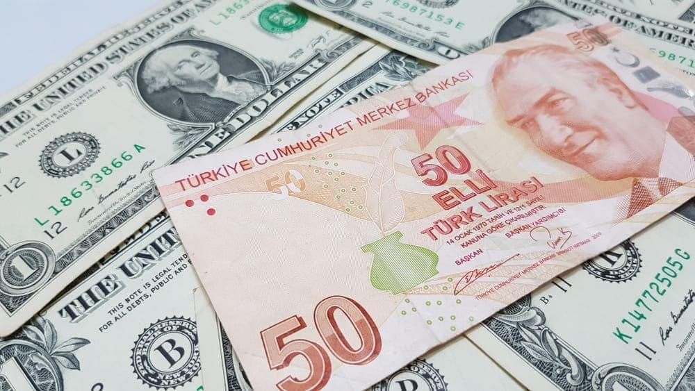 كم سعر الدولار في تركيا اليوم الإثنين 11-10-2021؟ سعر صرف الدولار مقابل الليرة التركية